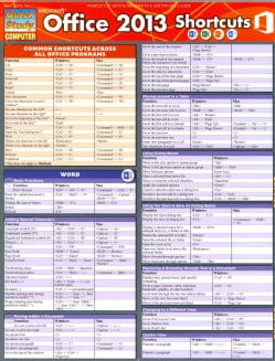 Microsoft Office 2013 Shortcuts (Cards)