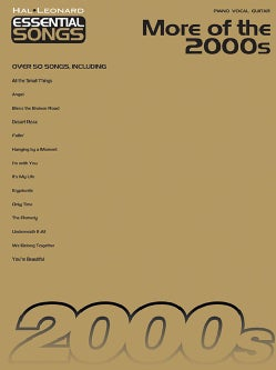 Essential Songs: More of the 2000s: Piano, Vocal, Guitar (Paperback)