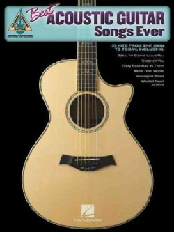 Best Acoustic Guitar Songs Ever (Paperback)