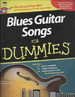 Blues Guitar Songs for Dummies (Paperback)