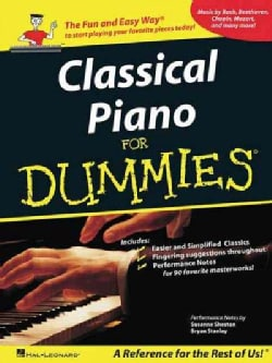 Classical Piano Music for Dummies (Paperback)