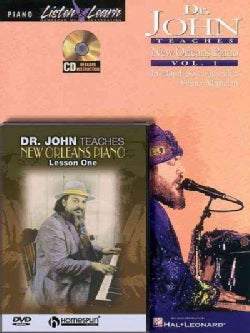 Dr. John Teaches New Orleans Piano: In-Depth Sessions with a Master Musician