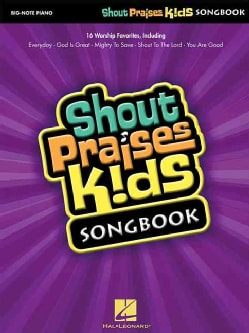 Shout Praises Kids Songbook: Big-Note Piano (Paperback)