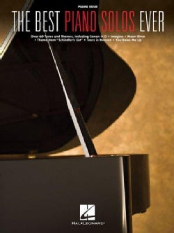 The Best Piano Solos Ever: Piano Solo (Paperback)