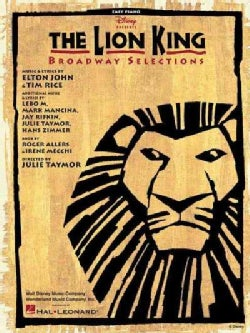 The Lion King: Broadway Selections, Easy Piano (Paperback)