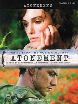 Atonement: Music from the Motion Picture Arranged for Piano Solo (Paperback)