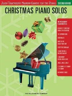 Christmas Piano Solos - Second Grade (Paperback)