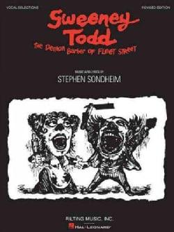 Sweeney Todd: The Demon Barber of Fleet Street: Vocal Selections (Paperback)