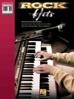 Rock Hits: Note-for-note Keyboard Transcriptions (Paperback)