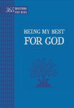 Being My Best for God: 365 Devotions for Kids Blue (Paperback)