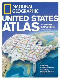 National Geographic United States Atlas For Young Explorers (Hardcover)