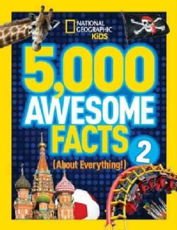 National Geographic Kids 5,000 Awesome Facts About Everything! (Hardcover)