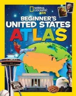 National Geographic Kids Beginner's United States Atlas (Hardcover)