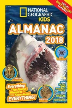 National Geographic Kids Almanac 2018 (Hardcover)