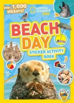 Beach Day Sticker Activity Book (Paperback)
