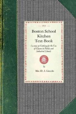 Boston School Kitchen Text-book (Paperback)