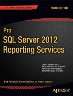 Pro SQL Server 2012 Reporting Services (Paperback)