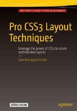 Pro Css3 Layout Techniques (Paperback)