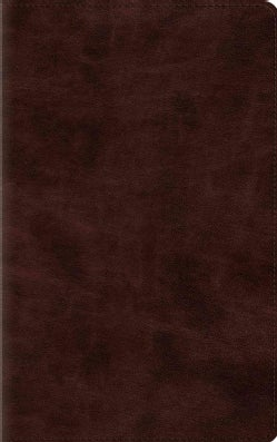 The Holy Bible: English Standard Version, Espresso Trutone, Thinline Bible (Paperback)