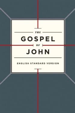 The Gospel of John: English Standard Version, Cross Design (Paperback)