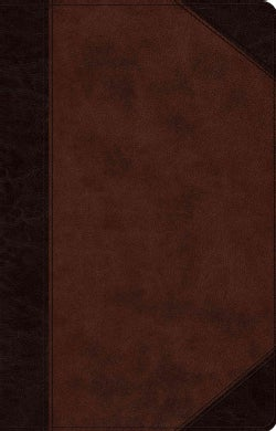 The Holy Bible: English Standard Version, Brown/Walnut Trutone Portfolio Design Thinline Reference Bible (Paperback)
