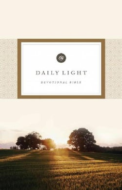 Holy Bible: English Standard Version, Daily Light Devotional (Paperback)
