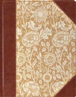 The Holy Bible: English Standard Version, Journaling, Antique Floral, Single Column (Hardcover)