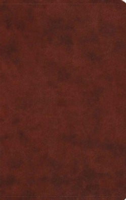 Holy Bible: English Standard Version, Chestnut Trutone, Value Thinline (Paperback)
