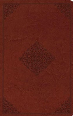 The Holy Bible: English Standard Version, Tan, Value Thinline Bible, Trutone, Ornament Design (Paperback)