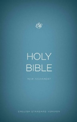 Holy Bible: English Standard Version Outreach New Testament, Blue (Paperback)