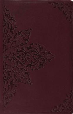 Holy Bible: English Standard Version, Trutone, Chestnut, Filigree  (Paperback)