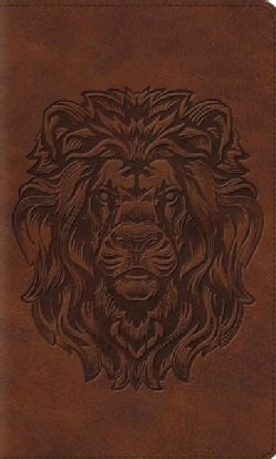The Holy Bible: English Standard Version Thinline Bible, Royal Lion, Trutone (Paperback)
