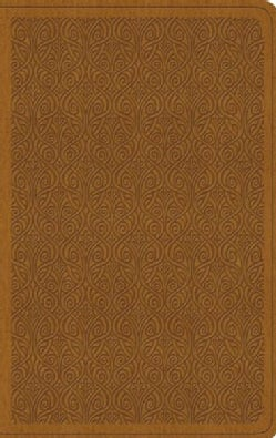 Holy Bible: English Standard Version, Value Thinline Bible, Trutone, Goldenrod, Vine (Paperback)