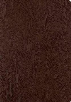 Holy Bible: English Standard Version, Mocha, Bonded Leather, Single Column Journaling Bible (Paperback)