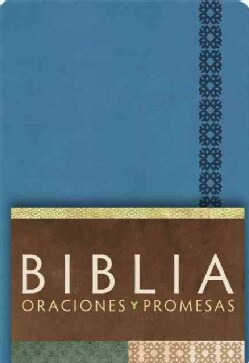 Biblia oraciones y promesas / Prayers and Promises Bible: Reina Valera Contemporanea, Azul cobalto / Cobalt Blue (Paperback)