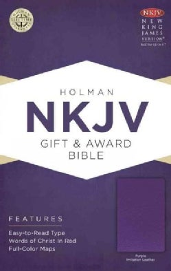 The Holy Bible: New King James Version, Purple, Imitation Leather, Gift & Award Bible (Paperback)