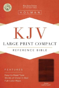 Holy Bible: King James Version Bible, Brown, Leathertouch (Paperback)