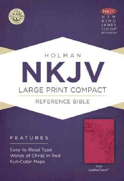 The Holy Bible: New King James Version Reference Bible, Pink, Leathertouch (Paperback)