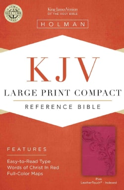 Holy Bible: King James Version, Pink LeatherTouch, Reference (Paperback)