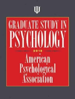 Graduate Study in Psychology 2015 (Paperback)