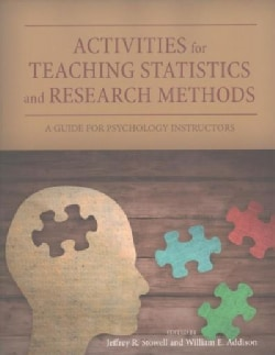 Activities for Teaching Statistics and Research Methods: A Guide for Psychology Instructors (Paperback)