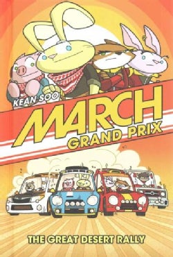 March Grand Prix: The Great Desert Rally (Hardcover)