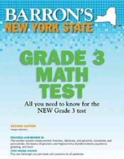 Barron's New York State Grade 3 Math Test (Paperback)