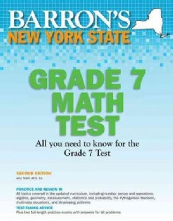 Barron's New York State Grade 7 Math Test (Paperback)