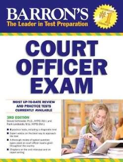 Barron's Court Officer Exam (Paperback)