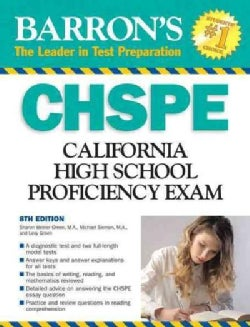 Barron's CHSPE: California High School Proficiency Exam (Paperback)