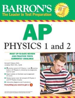 Barron's AP Physics 1 and 2 (Paperback)