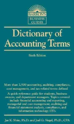 Dictionary of Accounting Terms (Paperback)