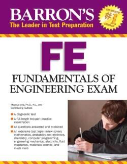 Barron's FE: Fundamentals of Engineering Exam (Paperback)