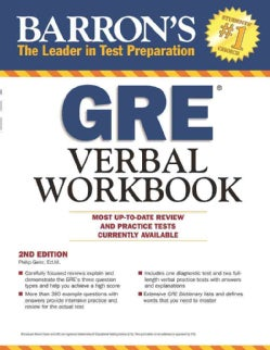 Barron's GRE Verbal Workbook (Paperback)